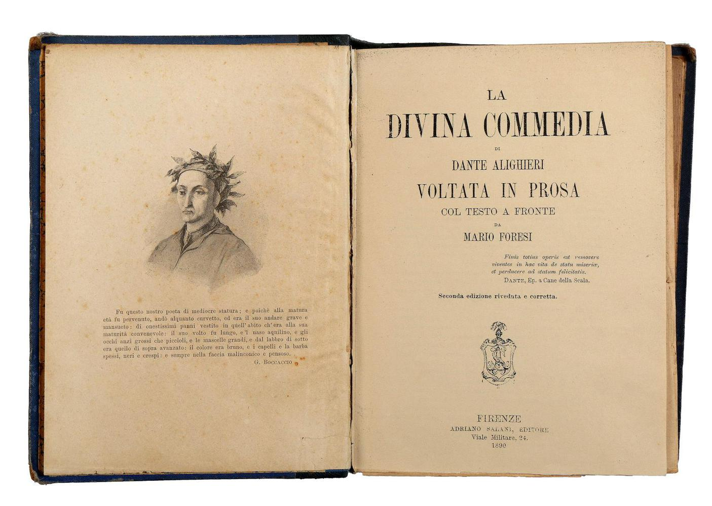 Essay: The Divine Comedy by Dante Alighieri (1265 – 1321)