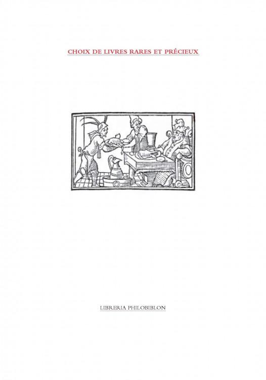 Choix de Livres rares et précieux - 2007