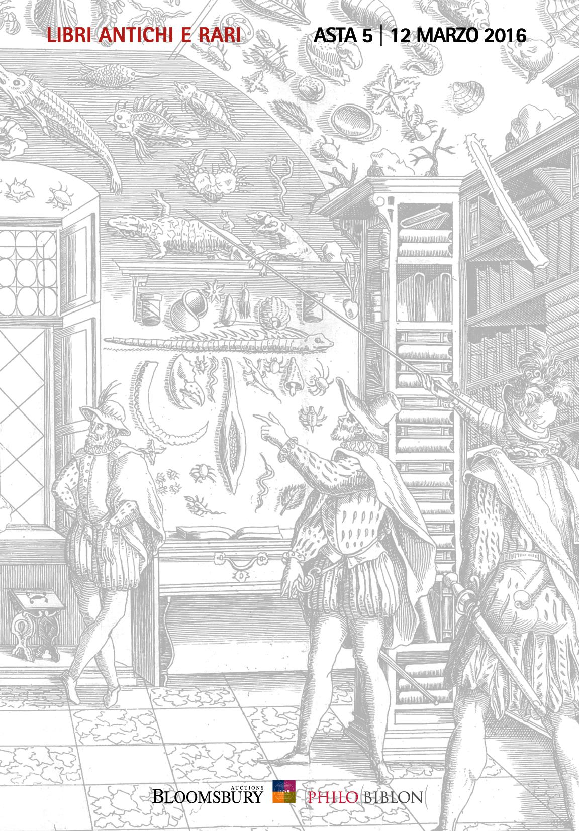 Asta 5 | Libri Antichi e Rari
