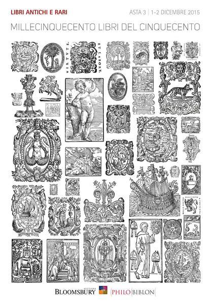 Asta 3 | Millecinquecento libri del Cinquecento