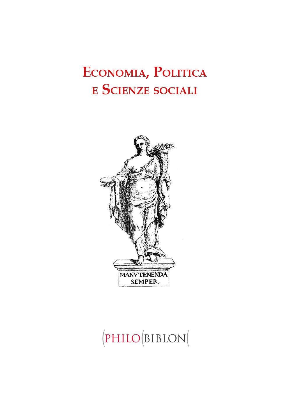 Economia, Politica, Scienze sociali
